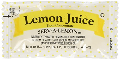 Lemon Juice Packets (200 count!) Always Fresh! (Juice Packets compare prices)