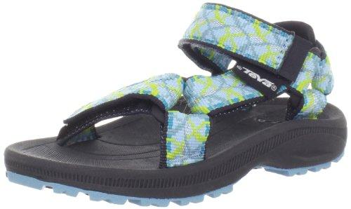 Teva Hurricane 2 C's Sandals Unisex-Child Turquoise Türkis (tie aqua 904) Size: 28