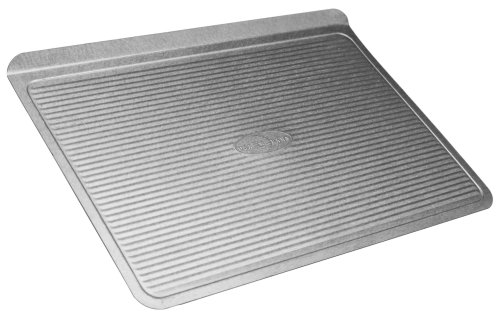 USA Pan Bakeware Aluminized Steel Cookie Sheet, Large (Usa Made Sheets compare prices)