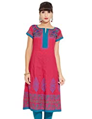 LOVELY LADY Ladies Cotton Solid KURTI - B00ZCBEG7K