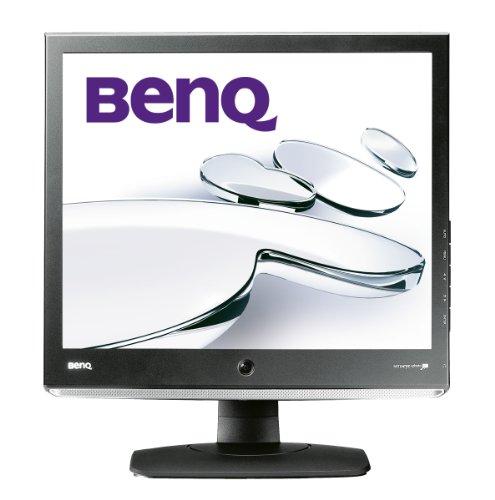 BenQ E910 19 inch LCD Monitor (VGA, DVI-D, 1280 x 1024, 1000:1, 5ms, 250 cd/m2) - Black/Silver