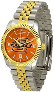 Oklahoma State Cowboys Executive AnoChrome Mens Watch by SunTime