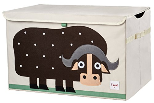 Find Bargain 3 Sprouts Toy Chest, Buffalo, Brown