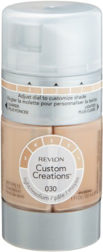 Revlon Custom Creations Foundation, Light Medium