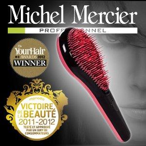 ミッシェル・メルシエ プロフェッショナルブラシ ピンク