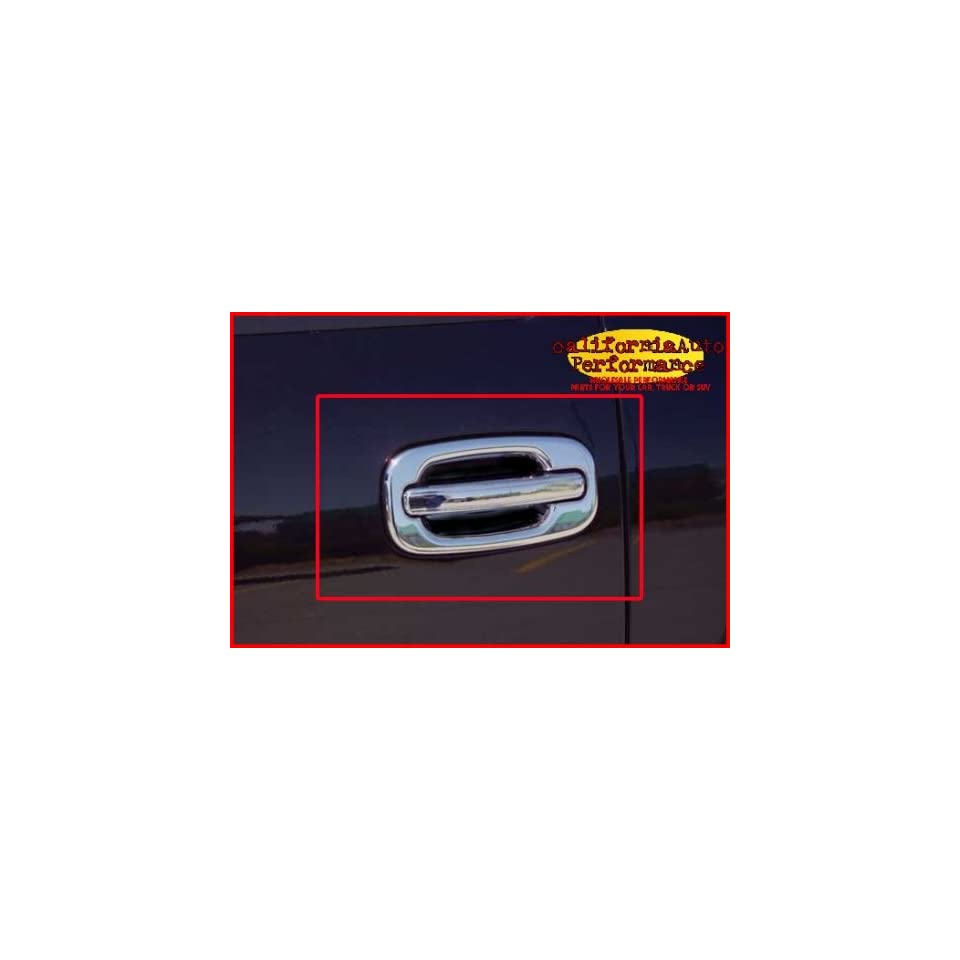 1999 2006 Chevy Silverado / GMC Sierra 4 Door Chrome Stainless Door Handle Covers