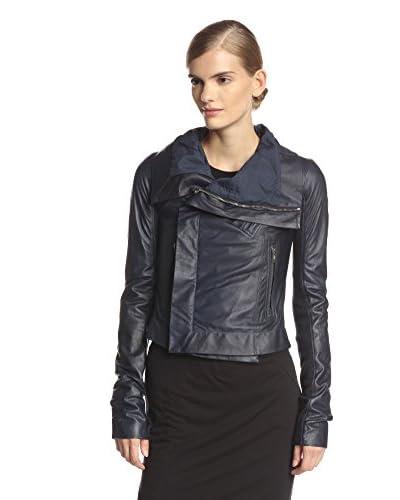 Rick Owens Women's Classic Leather Biker Jacket
