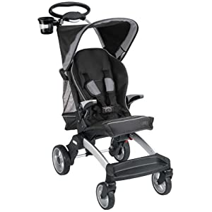 Mia Moda Cielo Evolution Compact Stroller, Nero (Discontinued by Manufacturer)