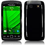 Blackberry Torch 9860 Gel Skin Case / Cover - Black PART OF THE QUBITS ACCESSORIES RANGEby TERRAPIN