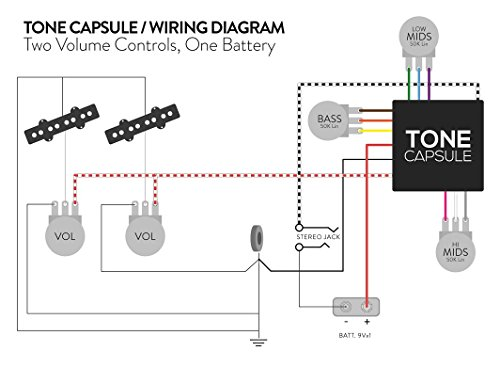 Darkglass Electronics Tone Capsule ベース本来の音色を拡張するナチュラルなオンボードプリアンプ ダークグラスエレクトロニクス トーンカプセル 国内正規品