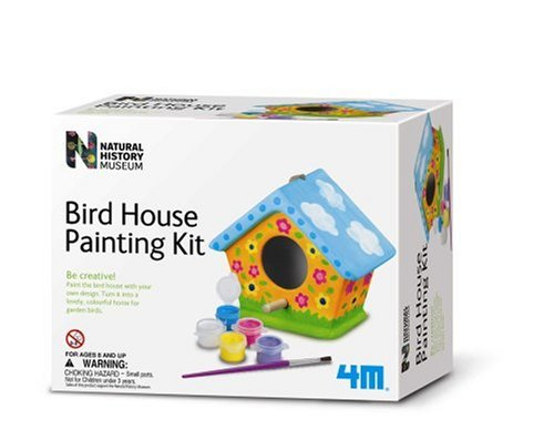ARTS AND CRAFTS Bird House Painting Kit