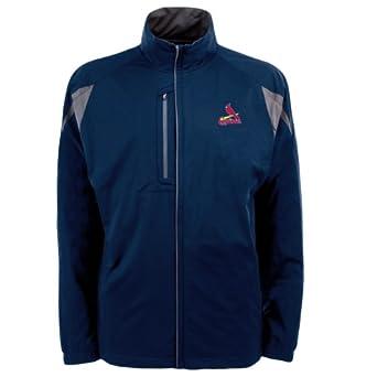 MLB Mens St. Louis Cardinals Highland Jacket by Antigua