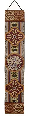 Celtic Cross 8 x 44 Bellpull Wall Hanging USA Made