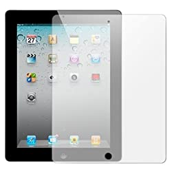 2 x Protectores de Pantalla para Apple iPad 3 3G and iPad 4 4G Retina Display (Wi-Fi and Wi-Fi + 4G) 16GB 32GB 64GB - Ultra Transparente (Invisible), Láminas de protección
