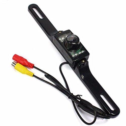 Naladoo 7 LED Night Vision Car's Rear View Backup Cameras Black 135 Degree (Car Dash Camera Vaas compare prices)