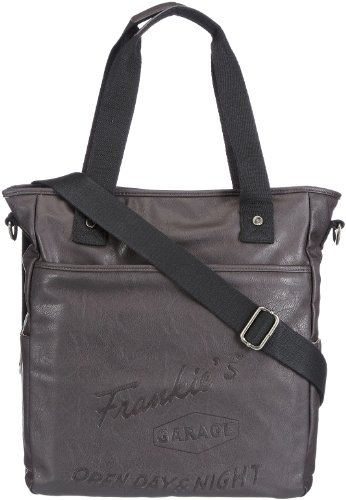 Frankie's Garage  Shopper Bag,  Borsa a mano unisex adulto, Marrone (Braun (darkbrown 020)), 31x23x8 cm (B x H x T)