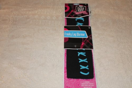 Monster High Freaky Leg Warmers Lagoona Blue