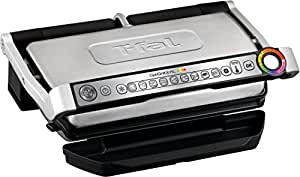 T fal gc722d53 1800w optigrill xl stainless - T fal optigrill indoor electric grill ...