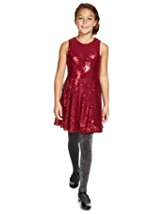 Autograph Sequin Embellished Dress