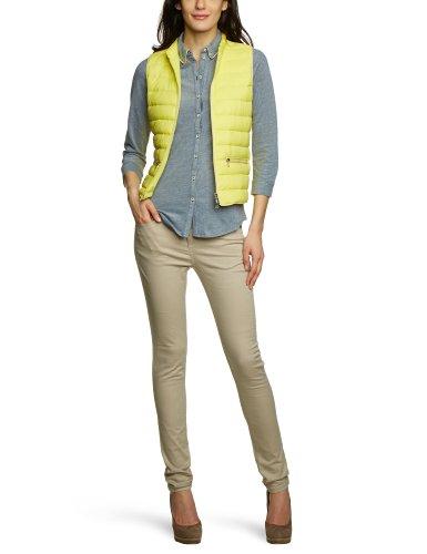 Marc O Polo - Gilet - Femme - Jaune (214 Lemonade) - FR   38 (Taille  fabricant   S) a8663cac4c0