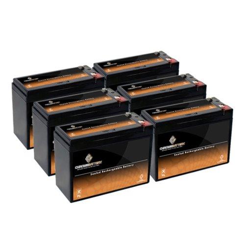 12V 10Ah Sla Battery For Electric Scooter Schwinn S180 / Mongoose - 6Pk
