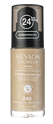 Revlon Colorstay Makeup For Combination/Oily Skin, Medium Beige, 1 Fl Oz (Color Stay compare prices)