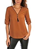 French Code Blusa Miss (Camel)