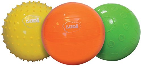 Ludi - Coffret de 3 Balles Sensorielles