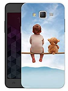 """Humor Gang Baby Friend Cute Printed Designer Mobile Back Cover For """"Samsung Galaxy J5"""" (3D, Matte, Premium Quality Snap On Case)"""