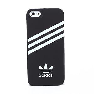 Amazon.com: Apple iPhone 5 Case Adidas Back Cover Middle Logo Matte