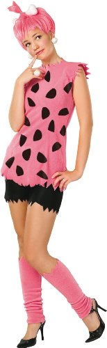 The Flintstones Adult Pebbles Costume,