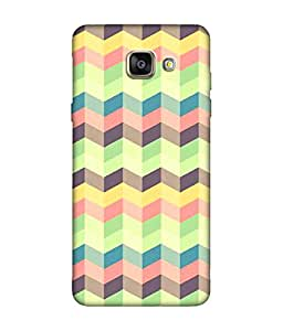 small candy 3D Printed Back Cover For Samsung Galaxy A3 2016 -Multicolor pattern