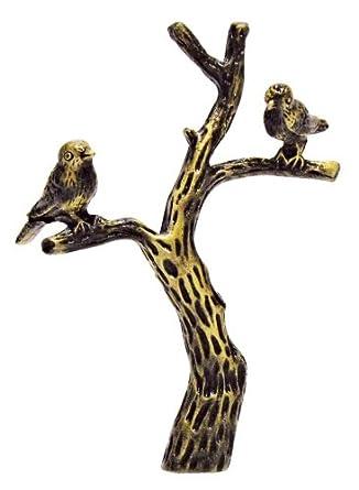 birds on branch antique metal finial lamp finials. Black Bedroom Furniture Sets. Home Design Ideas