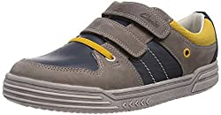 Clarks Boys Blue Leather Sports Shoes - 4.5 kids UK/India (20.5 EU)