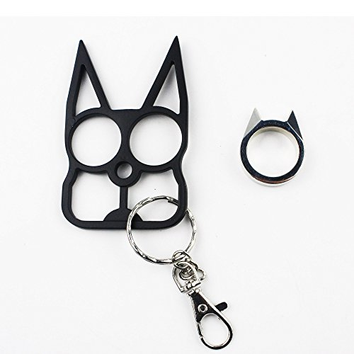 Safety Keychain Cat Ears