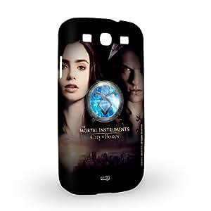Handyschale Handycase für Samsung Galaxy S3 i9300 / S3 Neo veredelt mit YOUNiiK Styling Skin - Chroniken der Unterwelt: City of Bones / Nephilim
