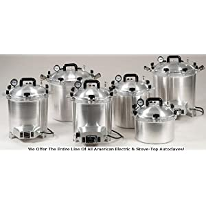 All American 25X Electric Autoclave 41ndjnhTnKL._AA300_