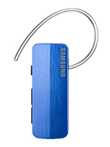 Samsung HM1700 Bluetooth Headset with Noise reduction and Echo cancellation, supports Music streaming (Blue)