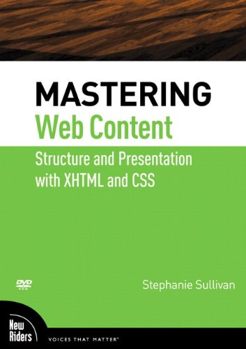Mastering Web Content (DVD)