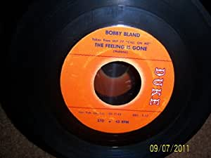 Bobby Bland I Cant Stop Singing The Feeling Is Gone