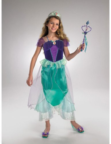 Child Prestige Ariel 7-8 Kids Girls Costume