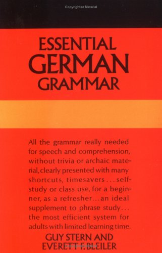 Image for Essential German Grammar