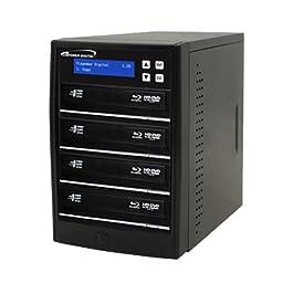 Vinpower Econ Series Blu-ray DVD CD Burner Duplicator Copier Tower (04 Target)