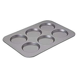 Chicago Metallic Nonstick Carbon Steel 15.75 x 11 in. The Original 6 Cup Muffin Top Pan