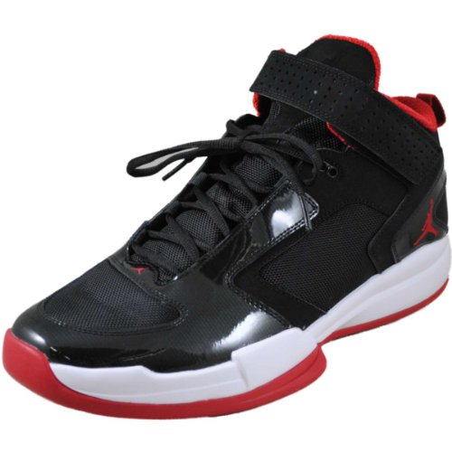 Air Jordan BCT Mid – Black / Gym Red-White, 11.5 D US