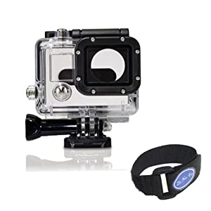Skeleton Protective Housing with Lens for Gopro hero 3, Open Side for FPV, without cable