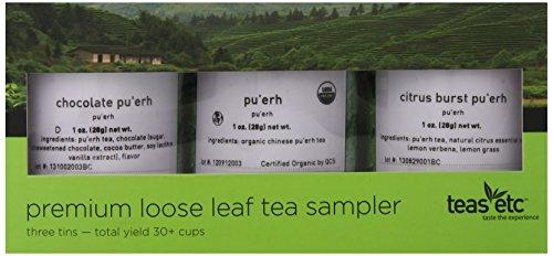 Tea Sampler Premium Pu-Erh Tea Sampler, 3 Ounce