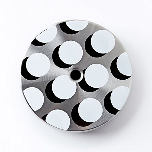 Starbucks White Polka Dot Stainless Steel Cold Cup Lid