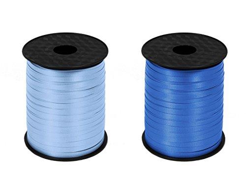 2pcs-500yrds-curling-ribbon-light-blue-royal-blue