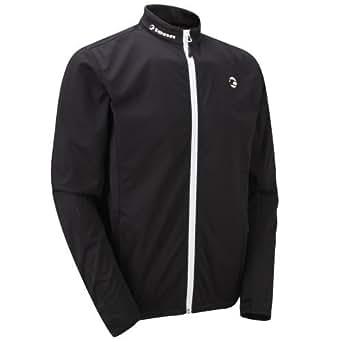 Tenn Coolflo Waterproof Cycling Jacket Black/White Lrg